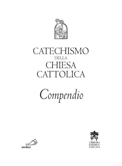 catechismo della chiesa cattolica compendio